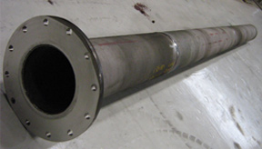 Gas-burner-tube